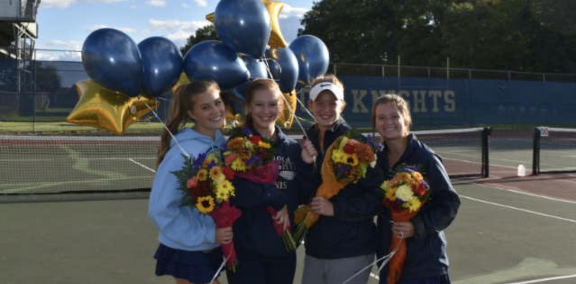 girls' tennis seniors