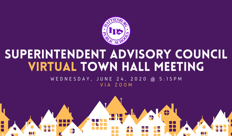 Superintendent Advisory Council Virtual Town Hall Meeting Featured Photo