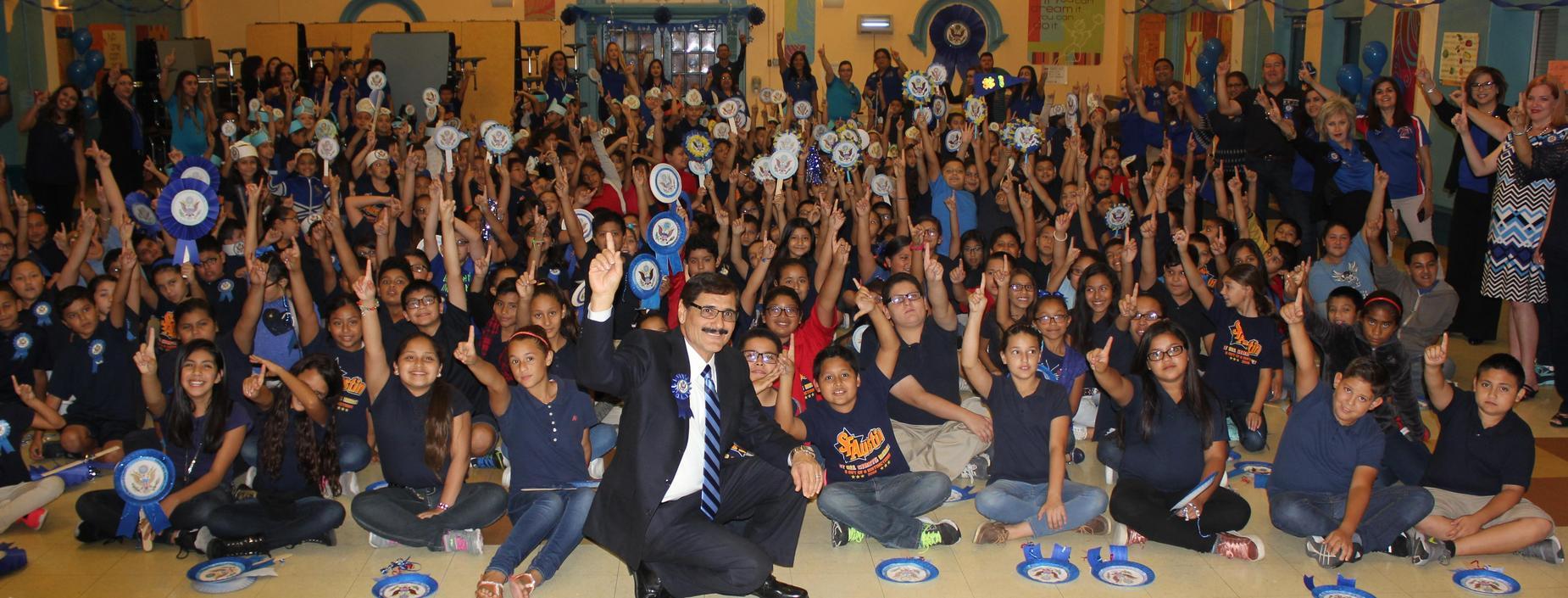 Mr. Cano -National Blue Ribbon School