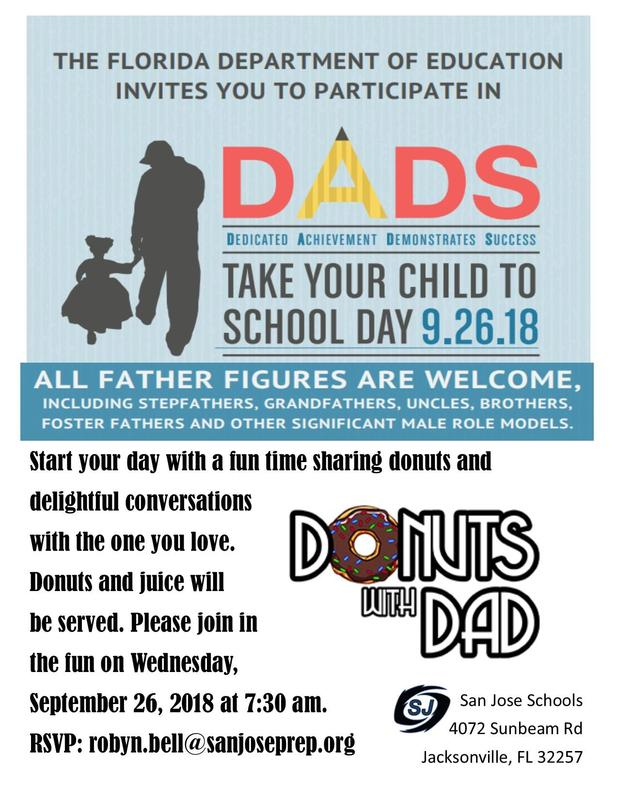 Donuts with Dad Featured Photo
