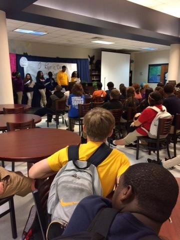 Multicultural Club at Black History Program