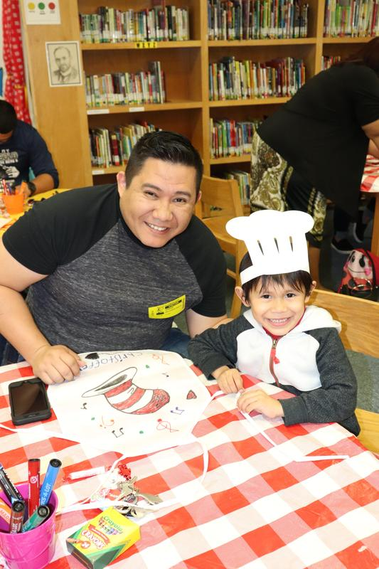 Image of PreK Family Literacy Event