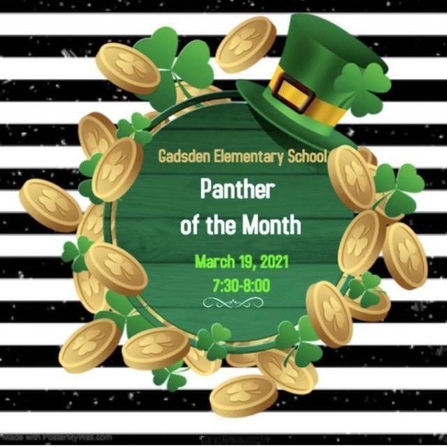 March Panther of the Month Featured Photo
