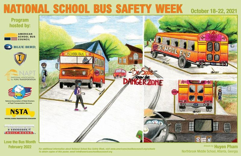 Bus Safety Poster