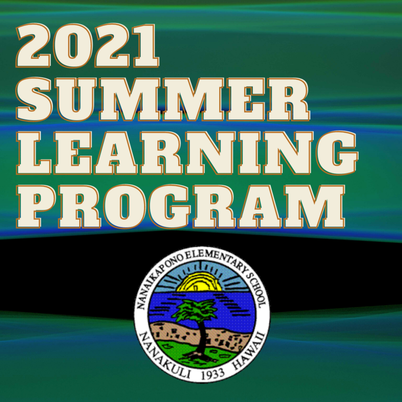 Summer Learning Program 2021 Featured Photo