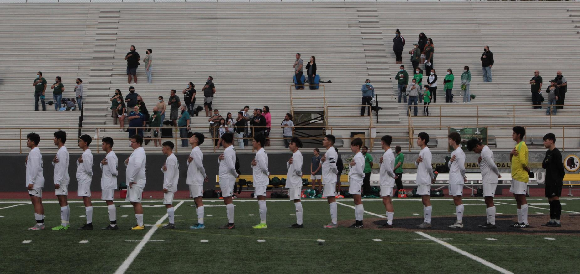 Soccer playoff game 4