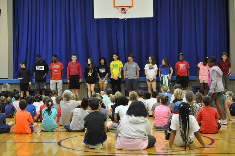 First All-School Assembly, Featured Photo