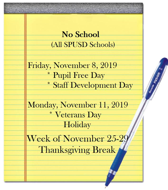 No School Days in November Featured Photo