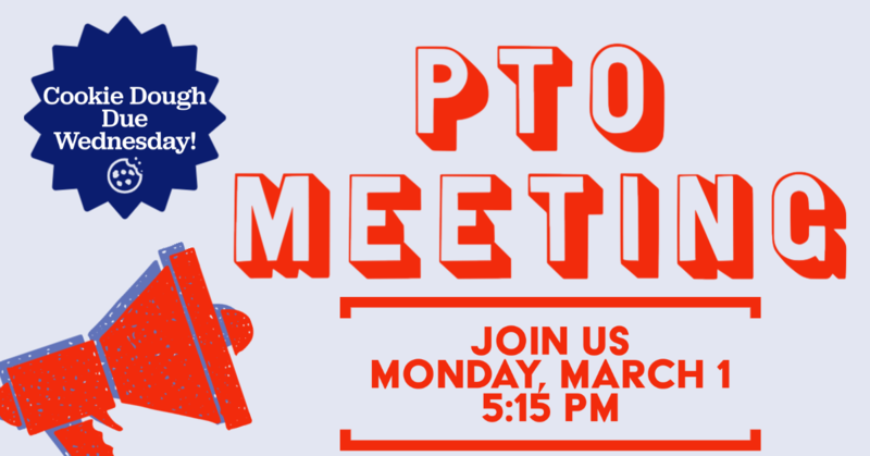 PTO MEETING MONDAY! Thumbnail Image