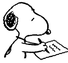Cartoon of someone writing down an important date