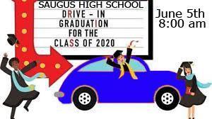 Drive Thru graduation image