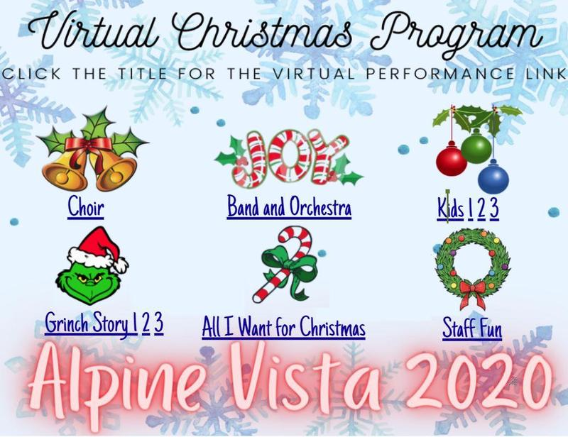 Virtual Christmas Program