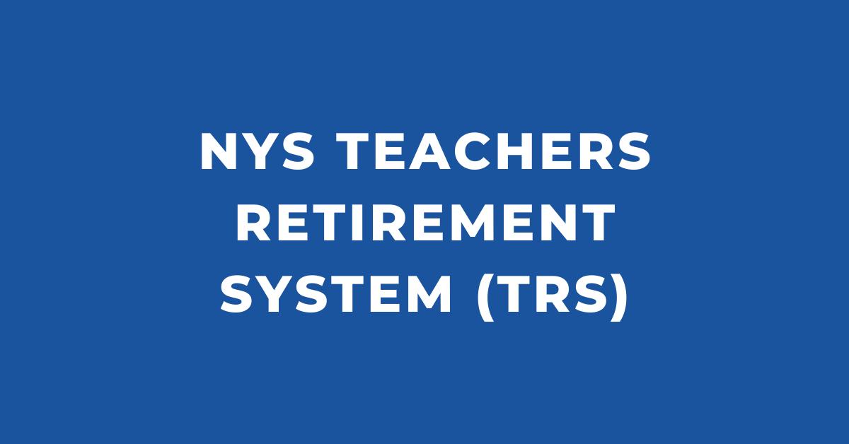 NYS Teachers Retirement System