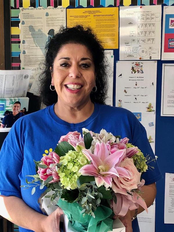 Teacher of the Year Awarded to Carmen Ornelas! Featured Photo