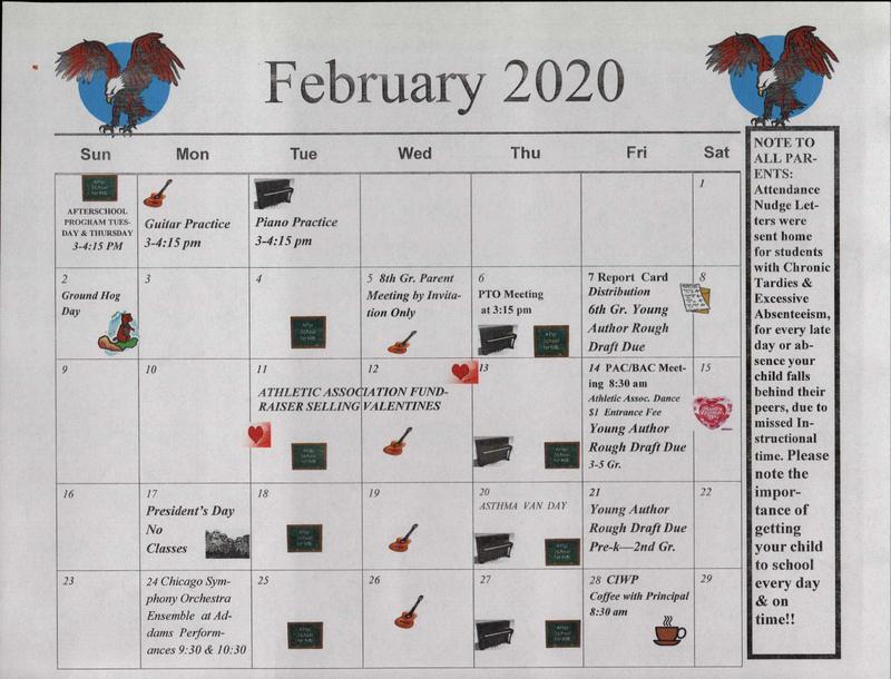 February Calendar Thumbnail Image