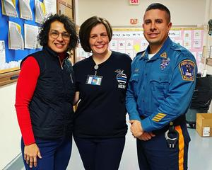 Ms. Del Gaudio, Ms. Cerullo, Officer Vasquez