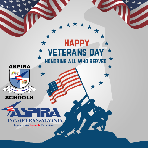 HAPPY VETERANS DAY FROM ASPIRA AND THE ASPIRA SCHOOLS Featured Photo