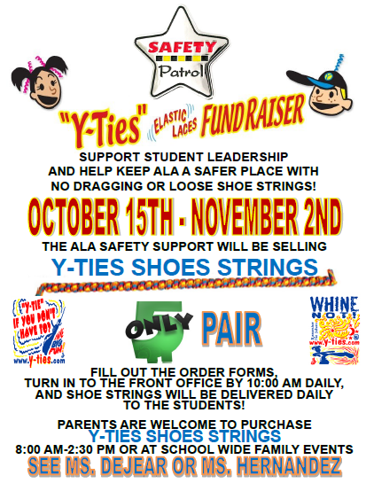 Y-Ties Shoes Strings Fundraiser Featured Photo