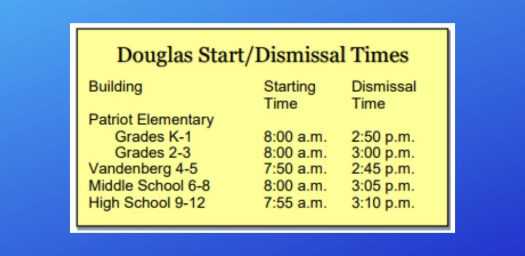 Douglas School District