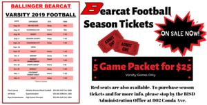 Bearcat Football Season Tickets