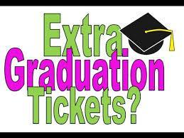 ORDER YOUR EXTRA TICKETS FOR GRADUATION!!! Featured Photo