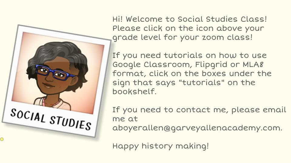 Social Studies Intro