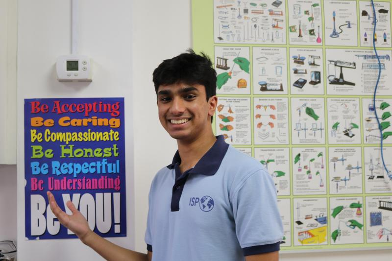Student Voice: Vivek leaves his footprint Featured Photo
