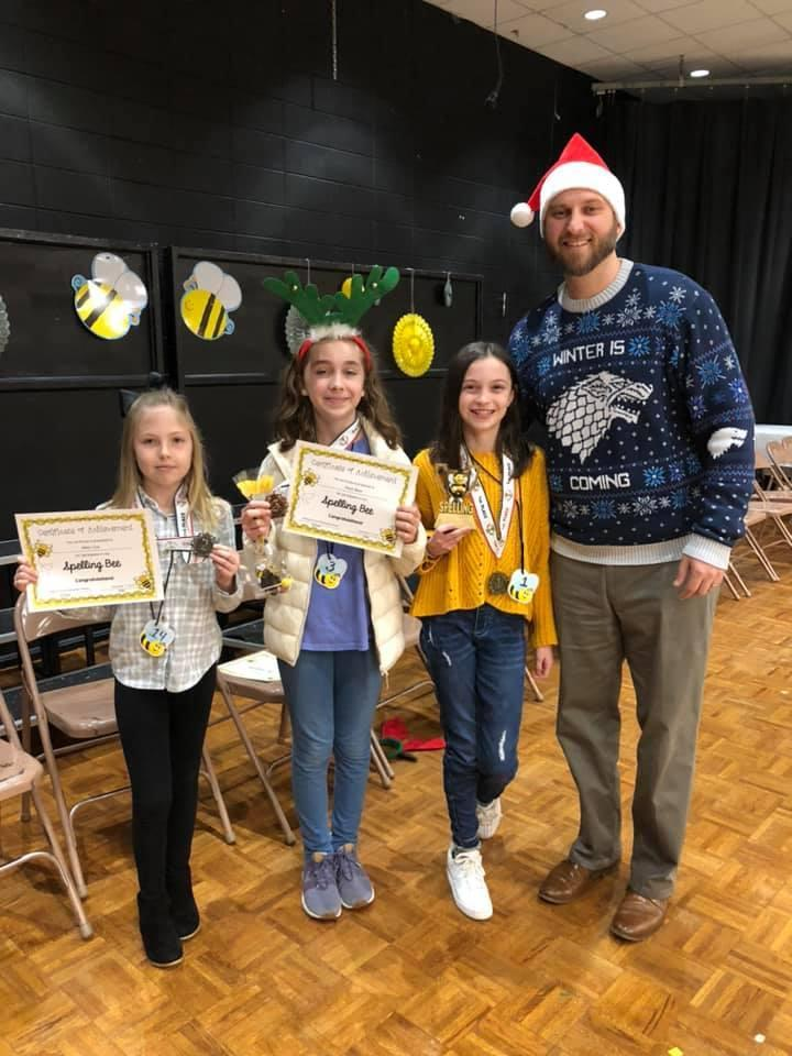 Congratulations to the CGES Spelling Bee Winners! Image