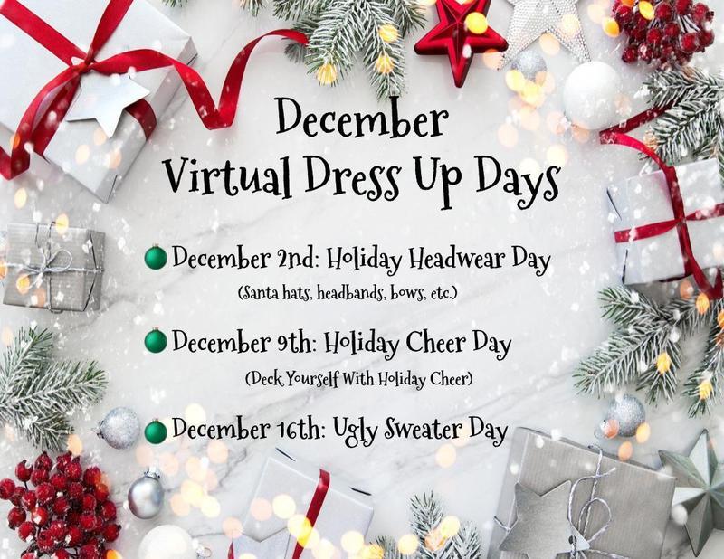 December Dress-Up Days