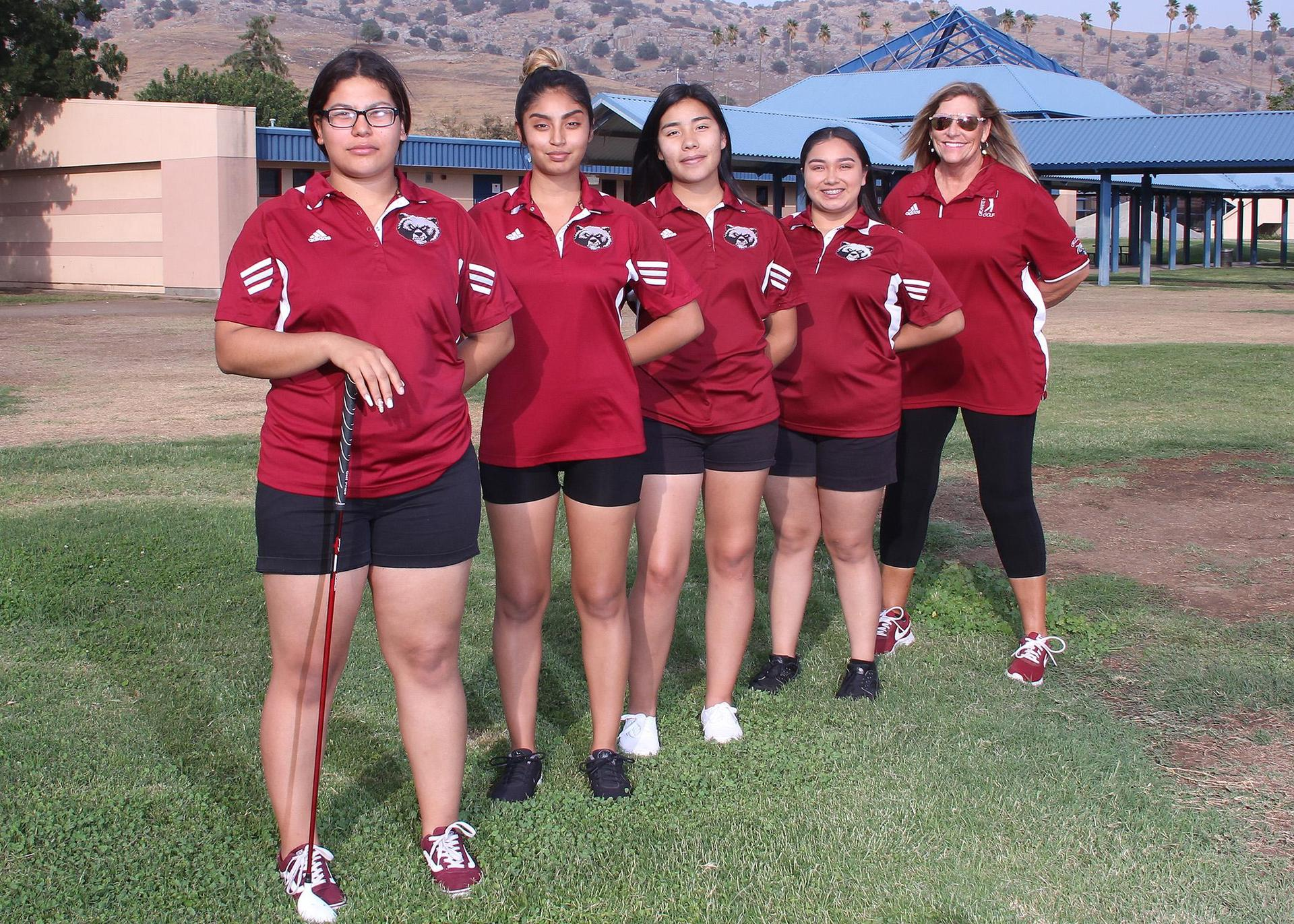 Lady Grizzly Golf 2018