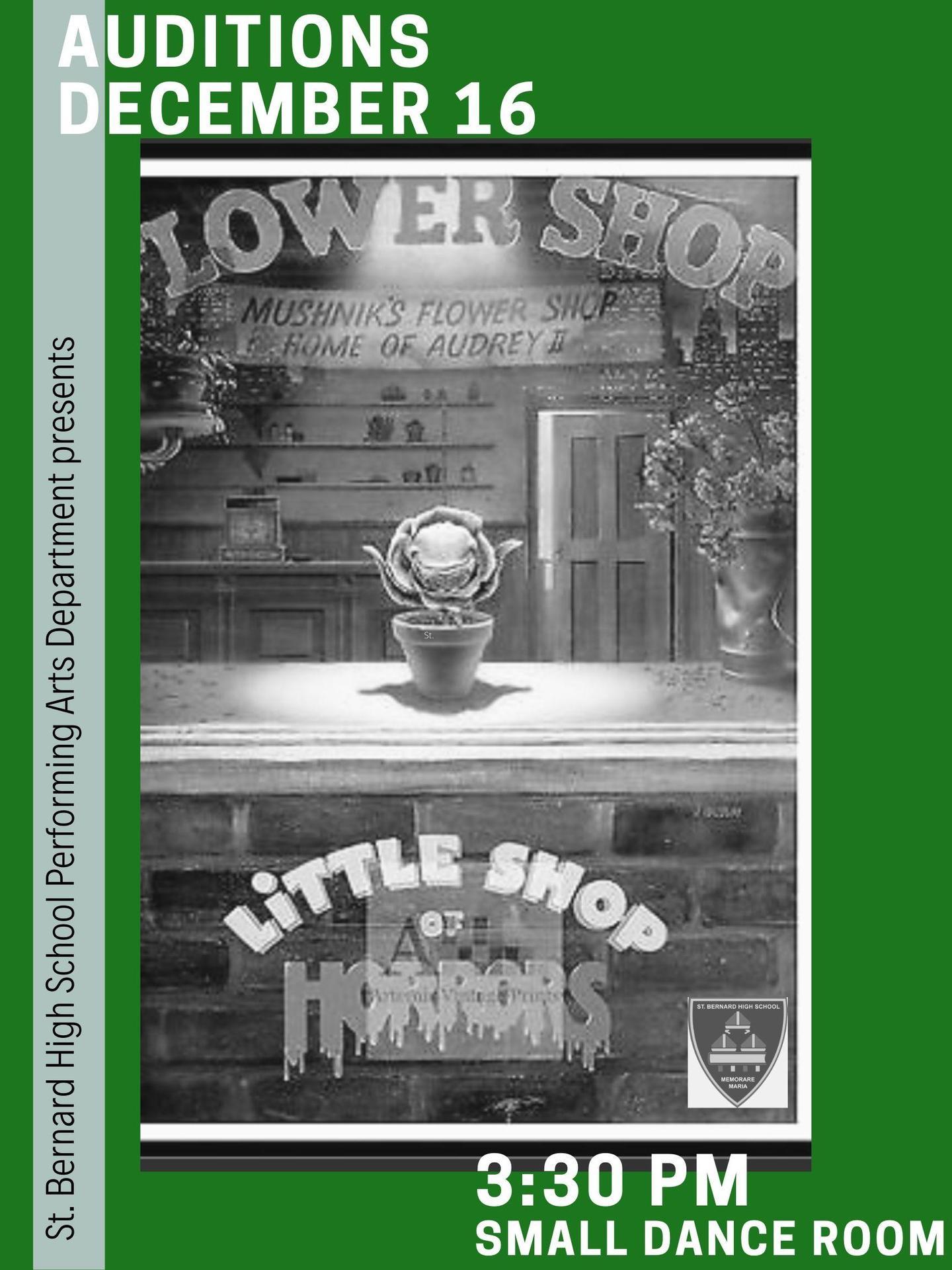 little shop poster