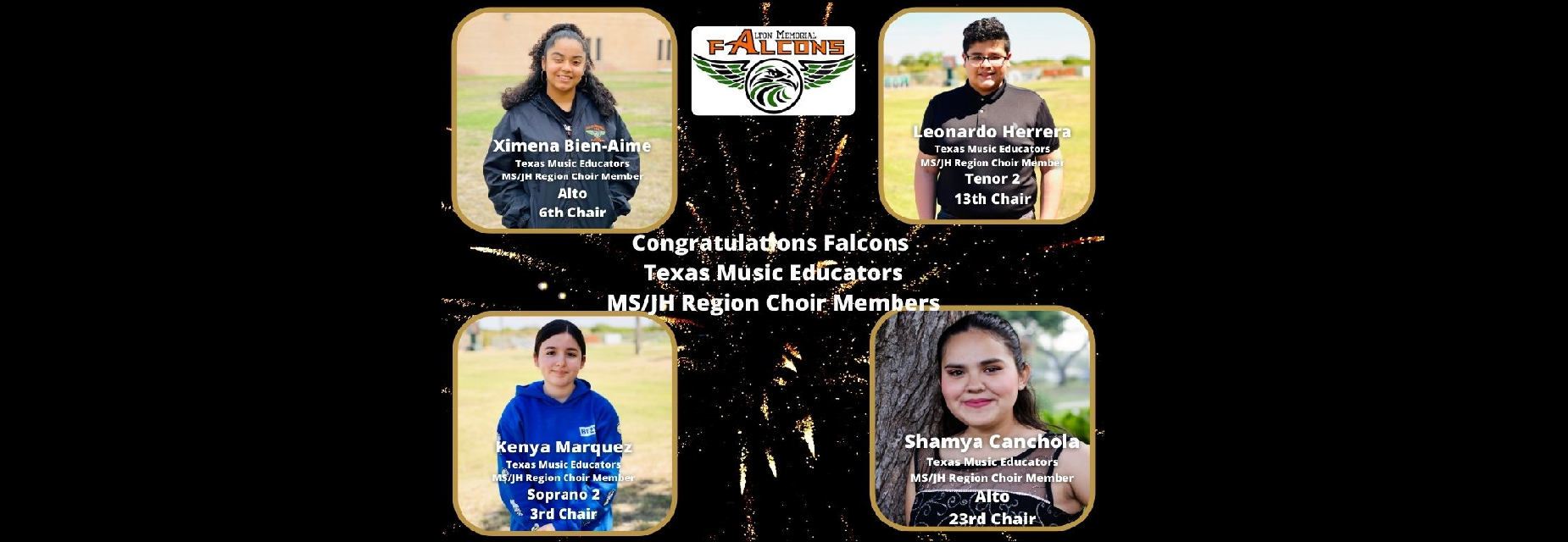 Congratulations to our Texas Music Educators!