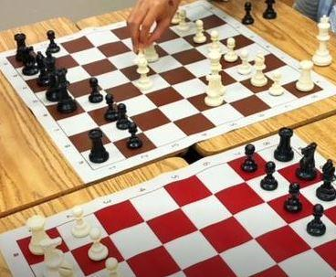 Photo of a chess game