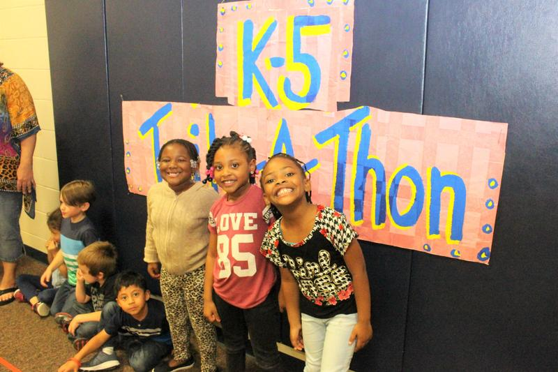 "On Friday, November 2nd, 5K students at B-L Primary School participated in the school's annual ""Trike-a-Thon"" to raise money for St. Jude Children's Research Hospital."