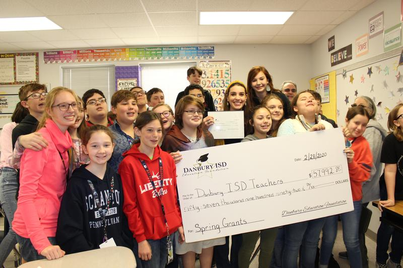 Danbury Education Foundation grant
