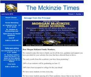 McKinzie Newsletter Thumbnail Image