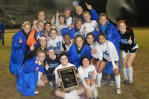 Girls Soccer Valley Champs