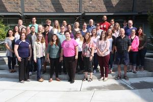 Group photo of the new teachers for 2018-2019