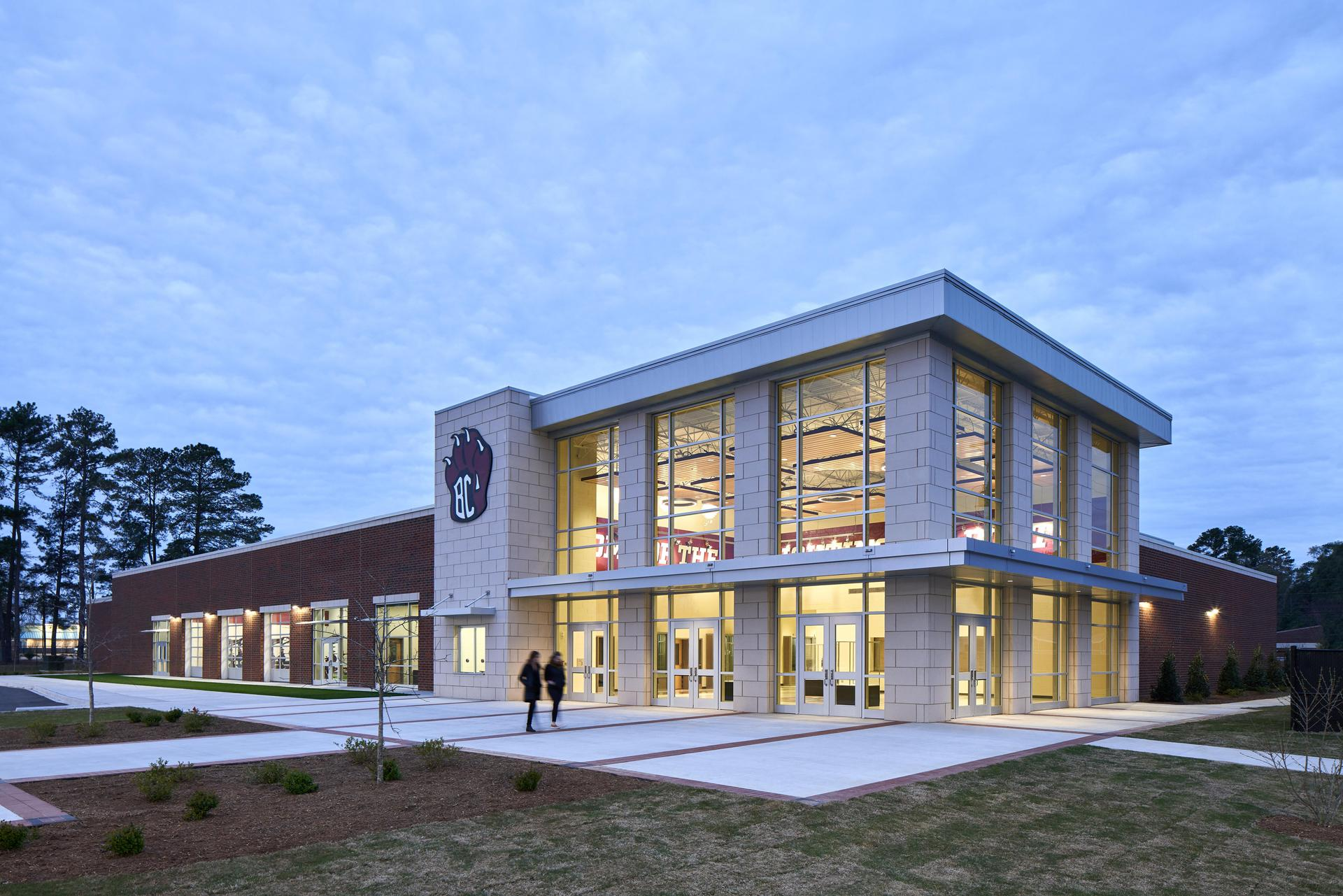 Architect's Rendering of the New Brookland-Cayce High School Arena