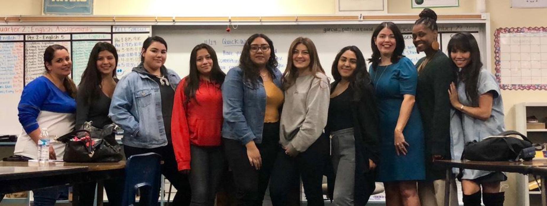Group photo at CHS