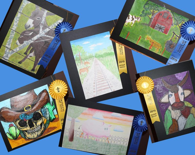 HOUSTON LIVESTOCK SHOW AND RODEO SCHOOL ART PROGRAM RESULTS Featured Photo
