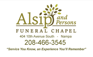 Alsip and Persons Funeral Chapel