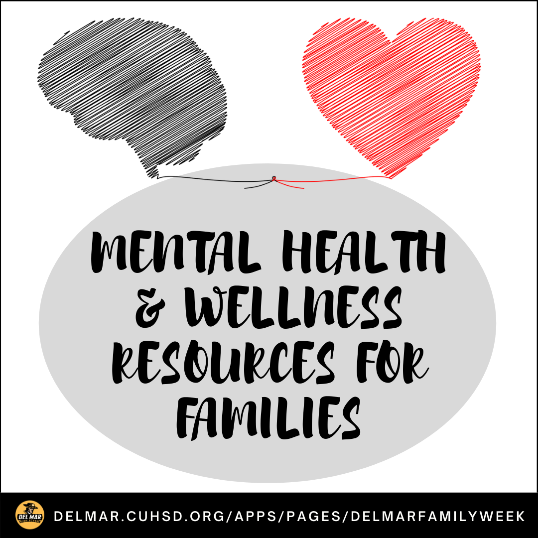 image of mental health and wellness resources for families