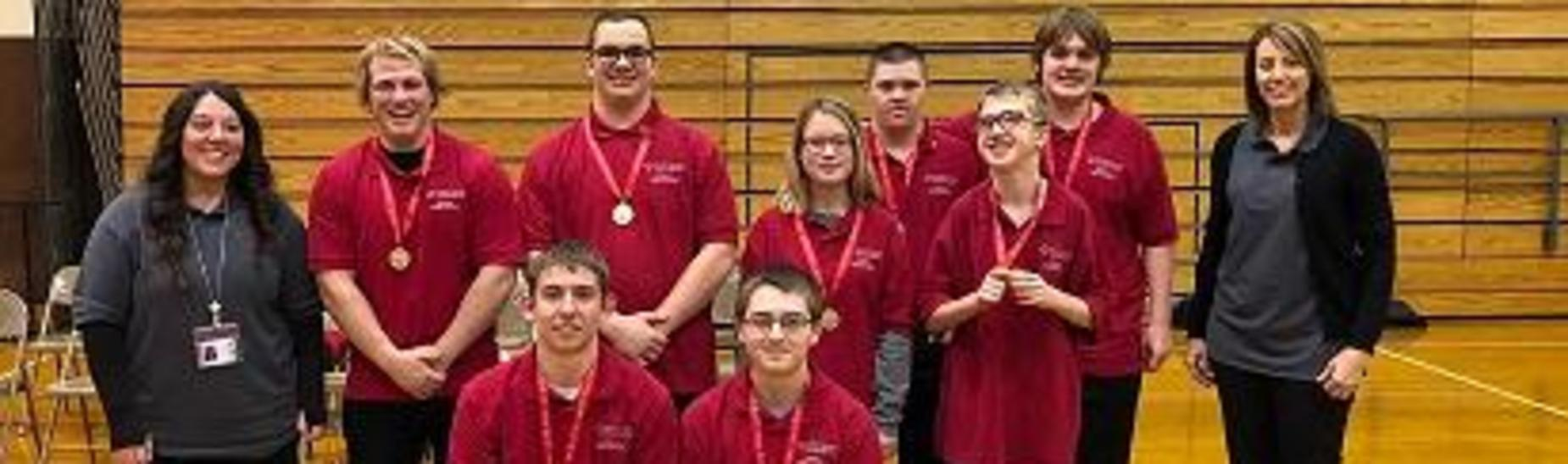 Bocce Ball Team after winning the Blair County Championship on 2/25/2019