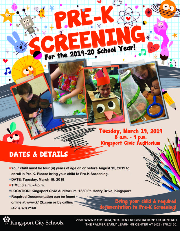Pre-K Screen Flyer