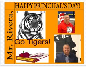 Mr. Rivera Principal Poster
