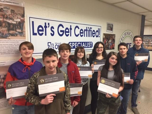 Fall 2019-20  Microsoft Office Specialist Certifications Featured Photo