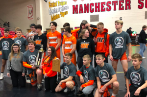 Wabash High School wrestlers