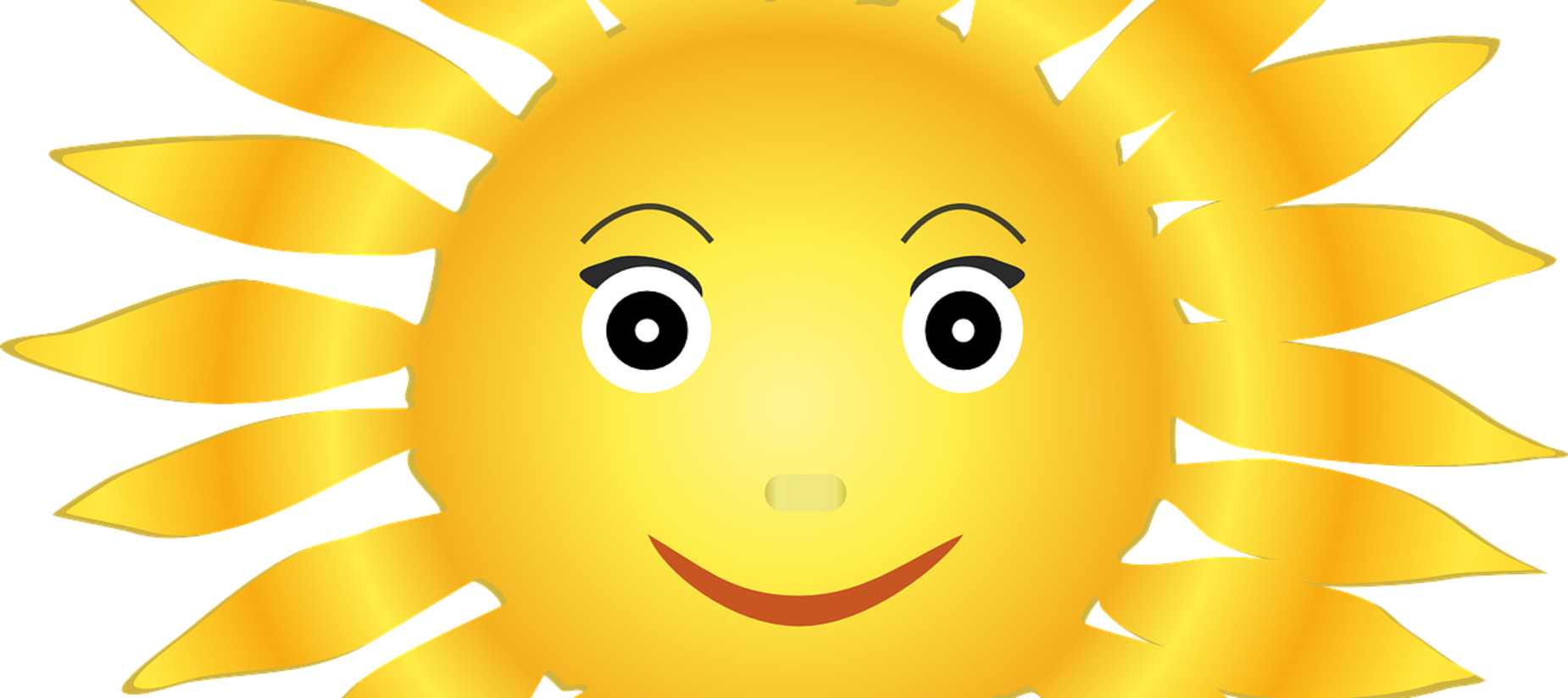 sunshine with a face on it