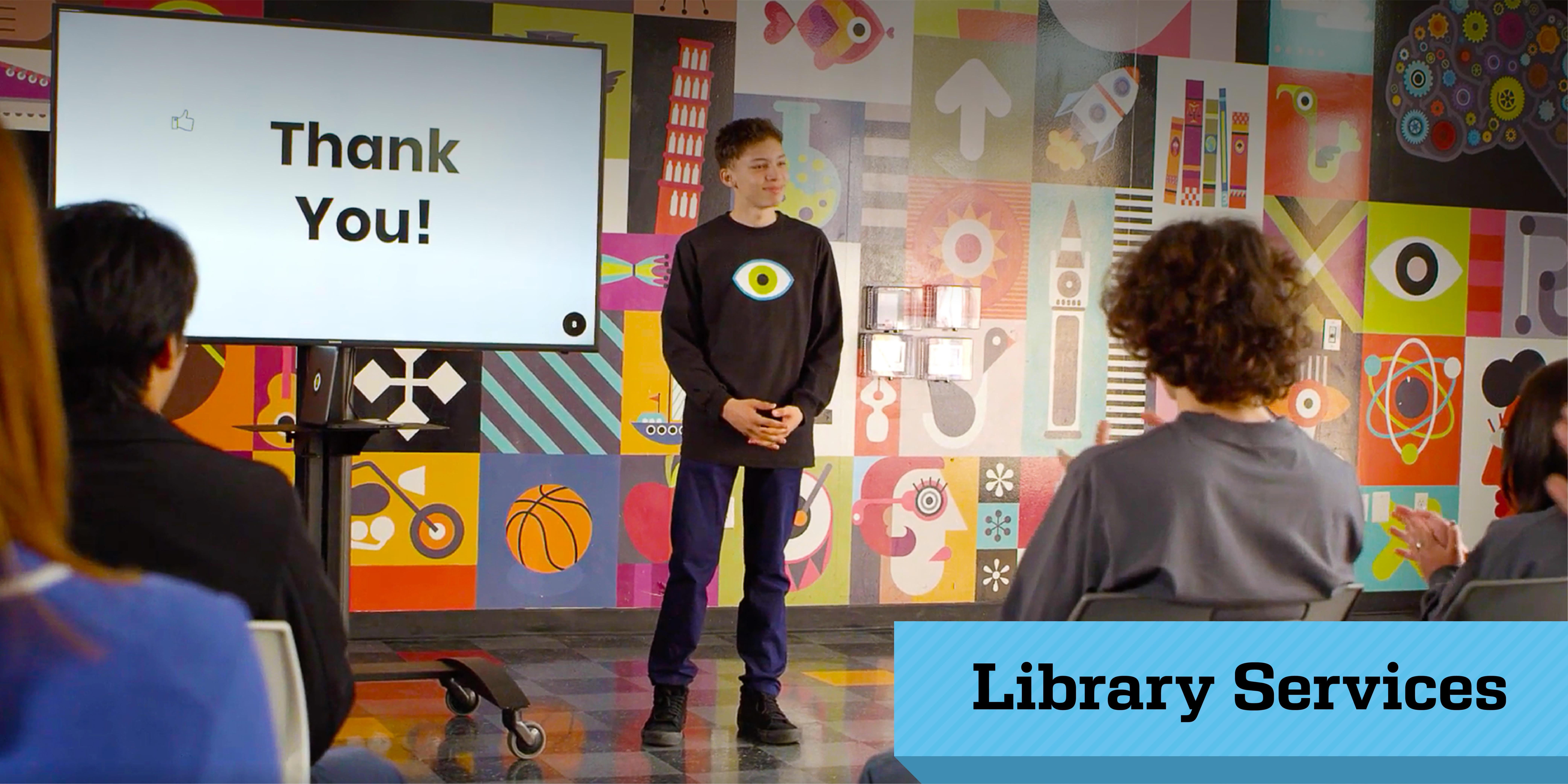 Library Services at Urban Discovery Schools